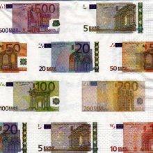 Serviette papier Money Euro 33 cm X 33 cm 3 plis