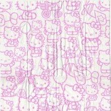 Mouchoir papier Hello Kitty de 5 cm X 10 cm 2 plis