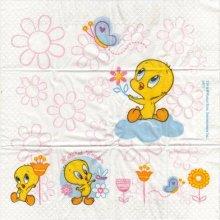 Mouchoir papier Titi de 5 cm X 7 cm 4 plis
