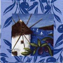 Serviette papier Moulin du Sud 33 cm X 33 cm 3 plis