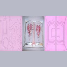 Plaque embossage motif livre