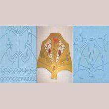 Plaque embossage motif papillon