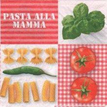 Serviette papier Pasta mamma 33 cm X 33 cm 3 plis