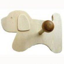 Patère chien 188 mm x 105 mm