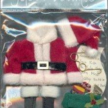 Stickers 3D habit de Père Noël