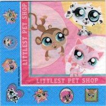 Serviette papier Little Pet Shop de 33 cm X 33 cm 2 plis