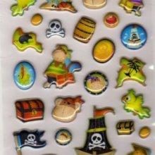 Stickers 3D Pirates