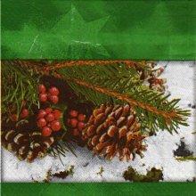 Serviette papier Pomme de pin de 40 cm X 40 cm 3 plis