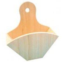 Porte filtre à café en bois 195 mm x 60 mm