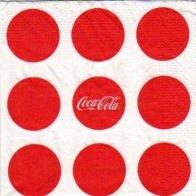 Serviette papier Coca Cola 25 cm x 25 cm 3 plis