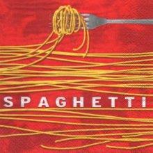 Serviette papier spaghetti 33 cm X 33 cm
