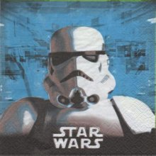 Serviette Star Wars le film de 33 cm X 33 cm 2 plis