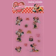 Stickers Minnie crystal