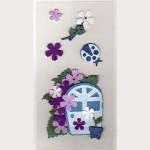 Stickers 3D fleurs