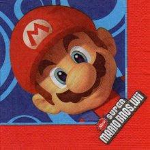 Serviette papier Super Mario 33 cm X 33 cm 2 plis