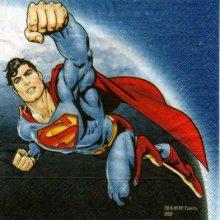 Serviette papier Superman 33 cm X 33 cm 3 plis