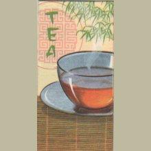Serviette papier Thé et Asie 33 cm X 33 cm 3 plis