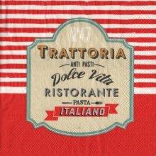 Serviette papier Trattoria Italia 33 cm x 33 cm