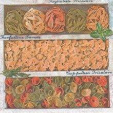 Serviette papier Pasta Trio 33 cm X 33 cm 3 plis