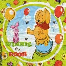 Serviette papier Winnie The Pooh 33 cm X 33 cm 2 plis