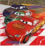 Serviette papier Car2 et Piston Cup